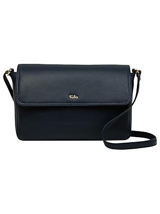 Tula Na Originals Leather Medium Flapover Cross Body Bag