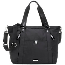Buy Storksak Cleo and Mini-Fix Changing Bag, Black Online at johnlewis.com