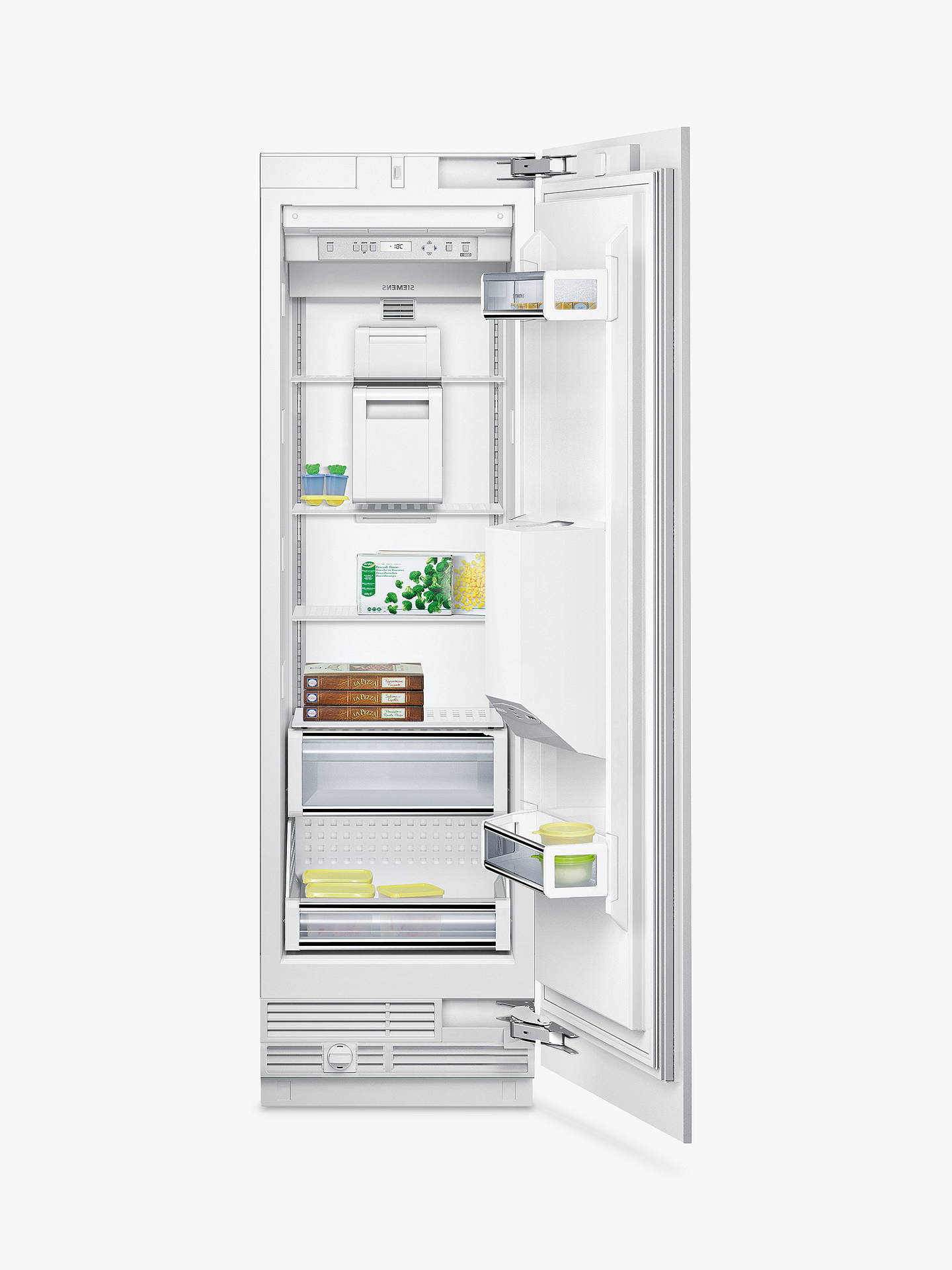 Buy Siemens FI24DP02 Integrated Tall Freezer, A+ Energy Rating, 60cm Wide, White Online at johnlewis.com