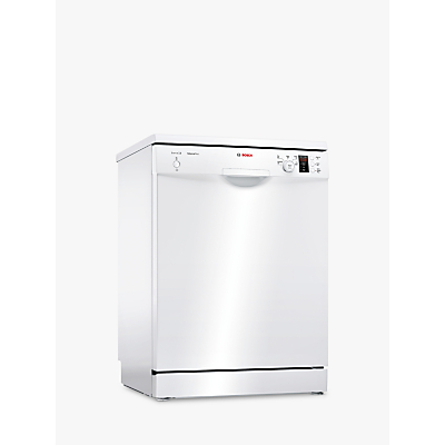 Bosch SMS25EW00G Freestanding Dishwasher, White