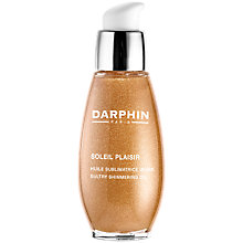 Buy Darphin Soleil Plaisir Sultry Shimmering Oil, 50ml Online at johnlewis.com