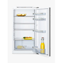 Buy Neff KI1312F30G Fridge, A++ Energy Rating, 54cm Wide, White Online at johnlewis.com