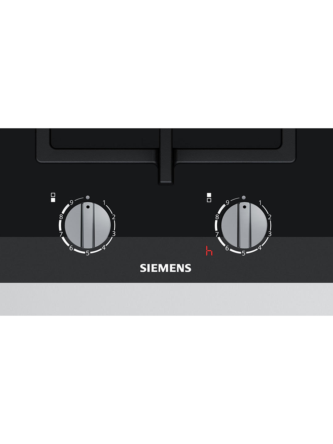 Buy Siemens ER3A6BD70 Gas Hob, Black Online at johnlewis.com