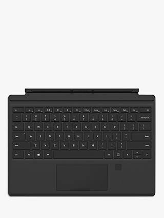 Microsoft Surface Pro Keyboard Cover with Fingerprint ID, Black