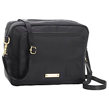 Buy Storksak Mini Changing Bag, Black Online at johnlewis.com