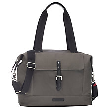 Buy Storksak Jude Convertible Changing Bag, Charcoal Online at johnlewis.com