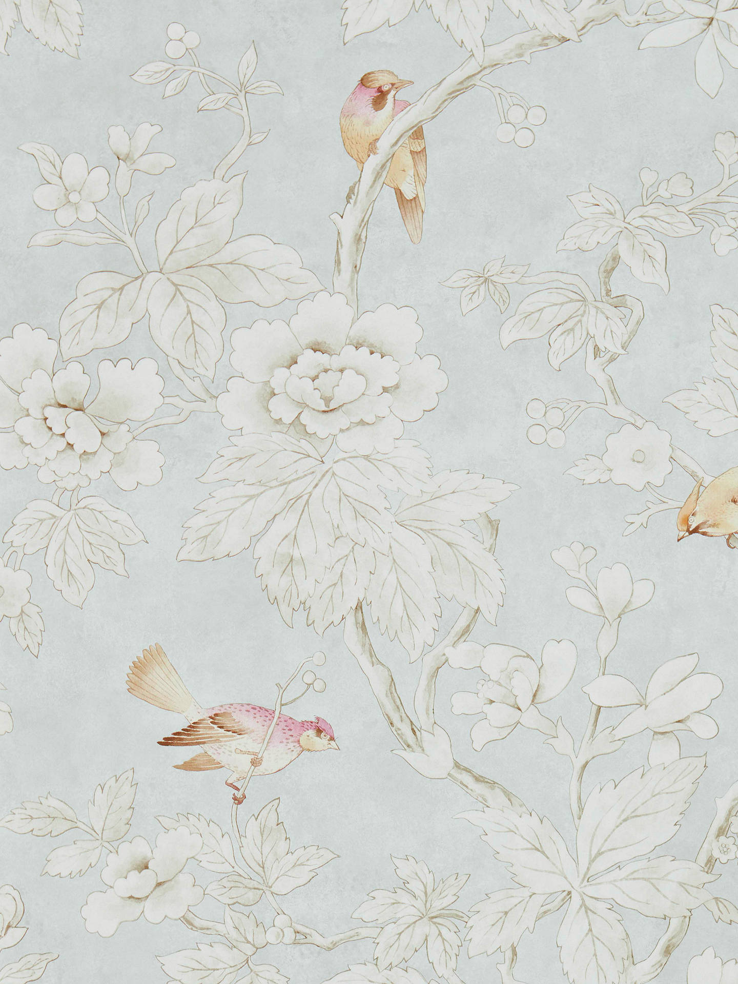 Buy Sanderson Chiswick Grove Wallpaper DDAM216388 Online at johnlewis.com