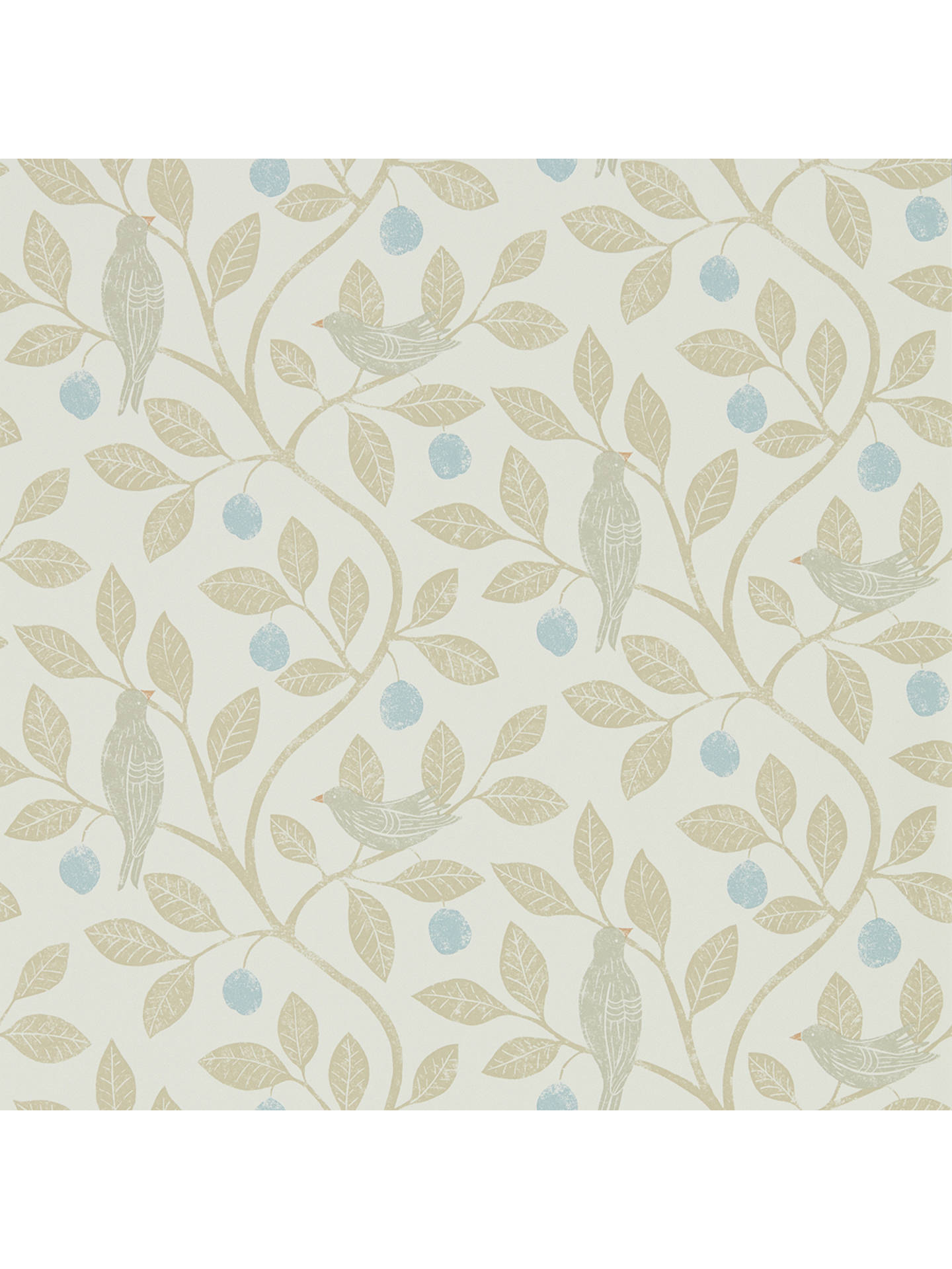BuySanderson Home Damson Tree Wallpaper DHPO216364 Online at johnlewis.com