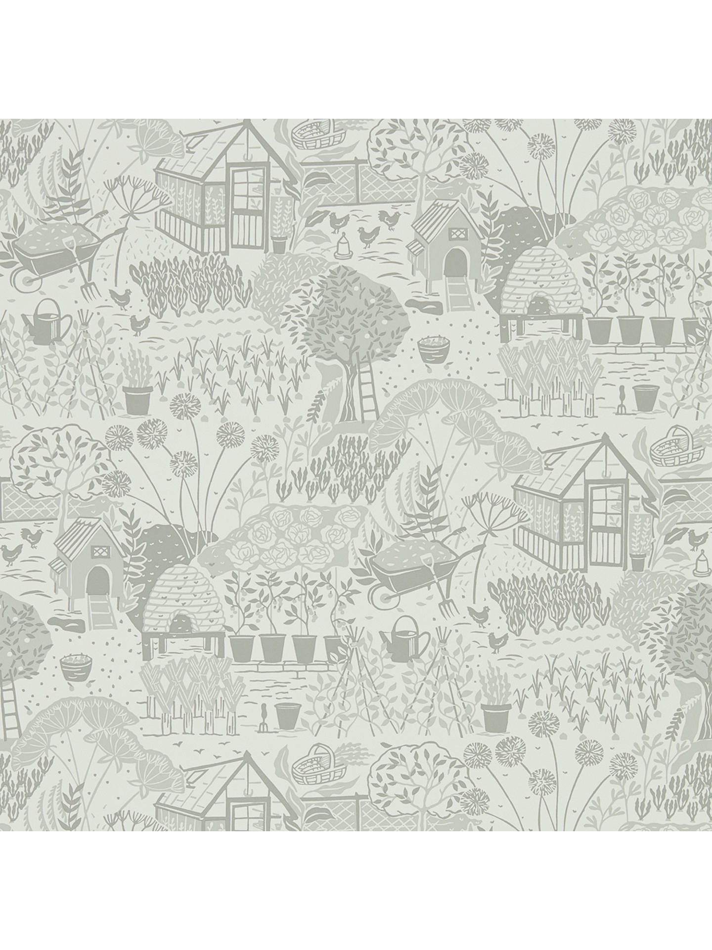 BuySanderson Home The Allotment Wallpaper DHPO216352 Online at johnlewis.com