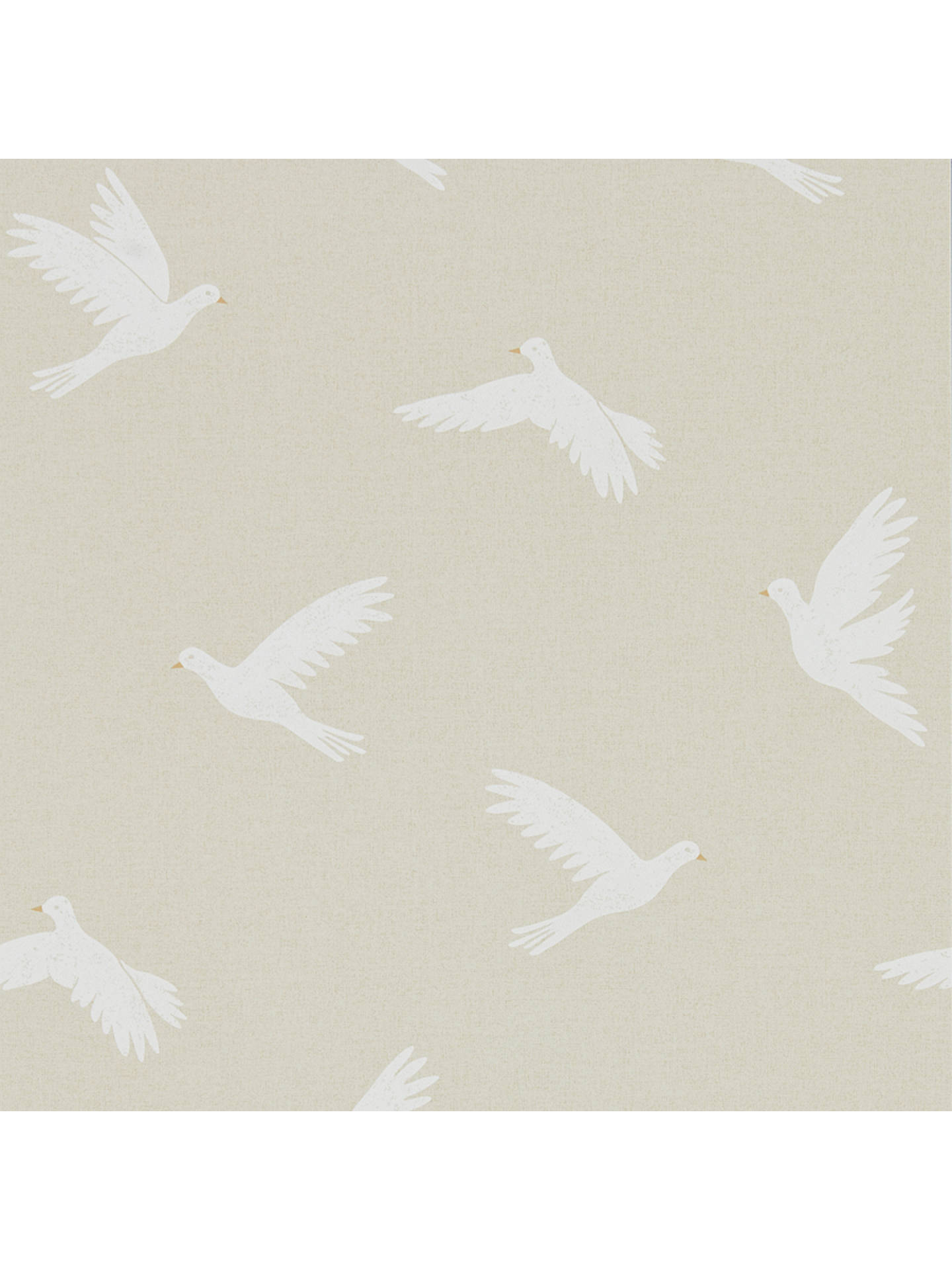 Buy Sanderson Home Paper Doves Wallpaper DHPO216378 Online at johnlewis.com