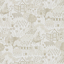 Buy Sanderson Home The Allotment Wallpaper Online at johnlewis.com