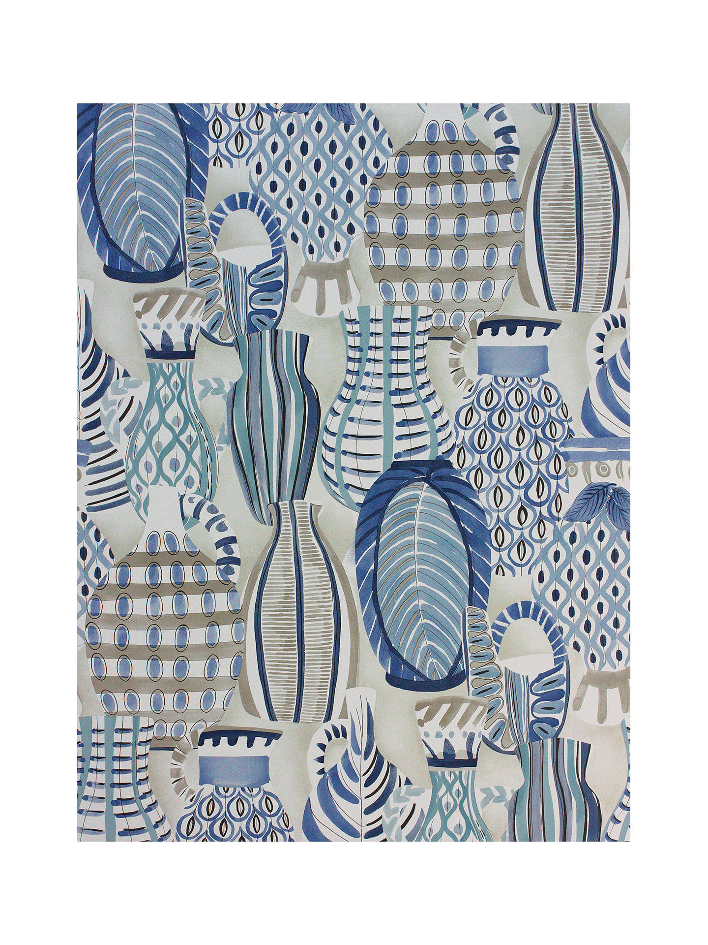 Buy Nina Campbell Collioure Wallpaper NCW4300-04 Online at johnlewis.com