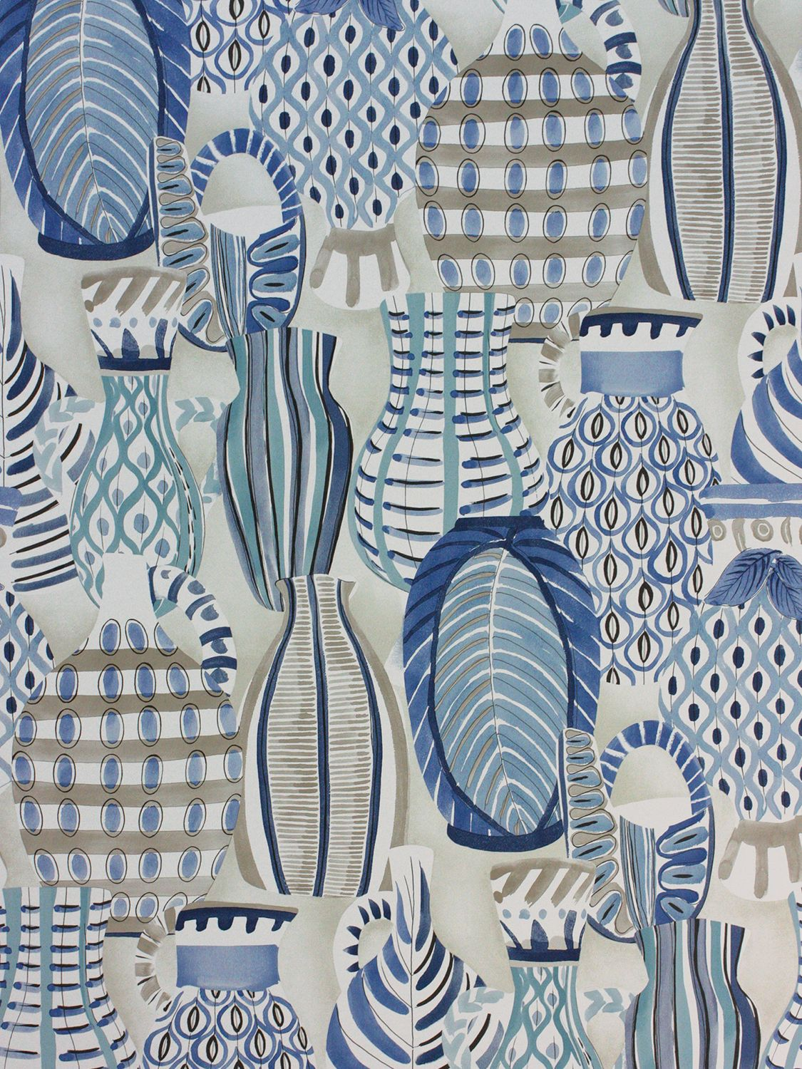 Nina Campbell Nina Campbell Collioure Wallpaper