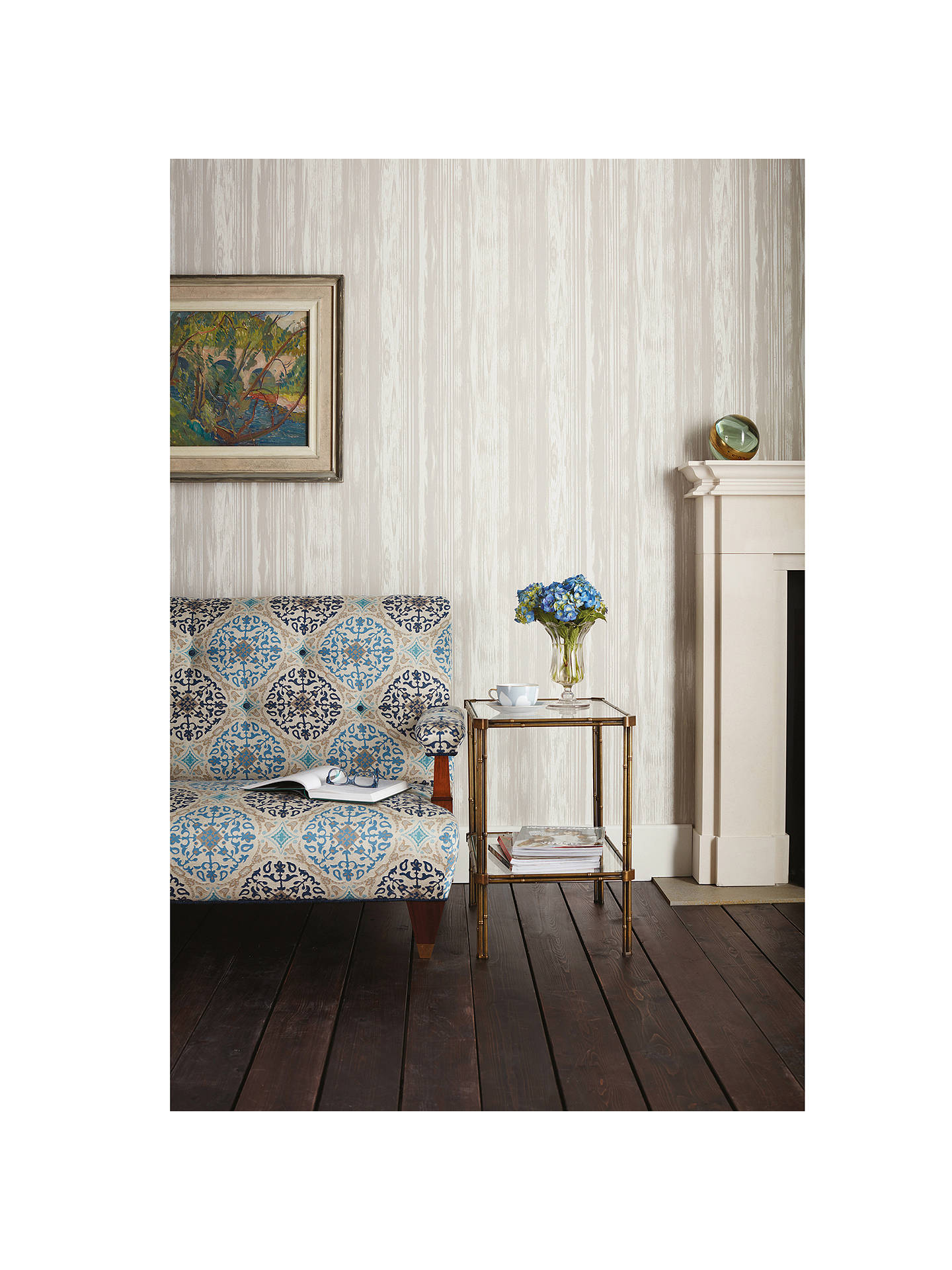 Buy Nina Campbell Pampelonne Wallpaper NCW4305-01 Online at johnlewis.com