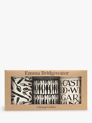 Emma Bridgewater Knives & Forks Storage Caddies, Set of 3