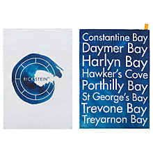 Buy Rick Stein Coves of Cornwall Tea Towels, Set of 2 Online at johnlewis.com