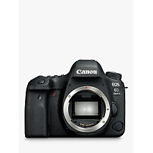 "Buy Canon EOS 6D MK II Digital SLR Camera, GPS, 1080p Full HD, 26.2MP, Wi-Fi, Bluetooth, NFC, 3"" Vari-angle Touch Screen, Body Only Online at johnlewis.com"