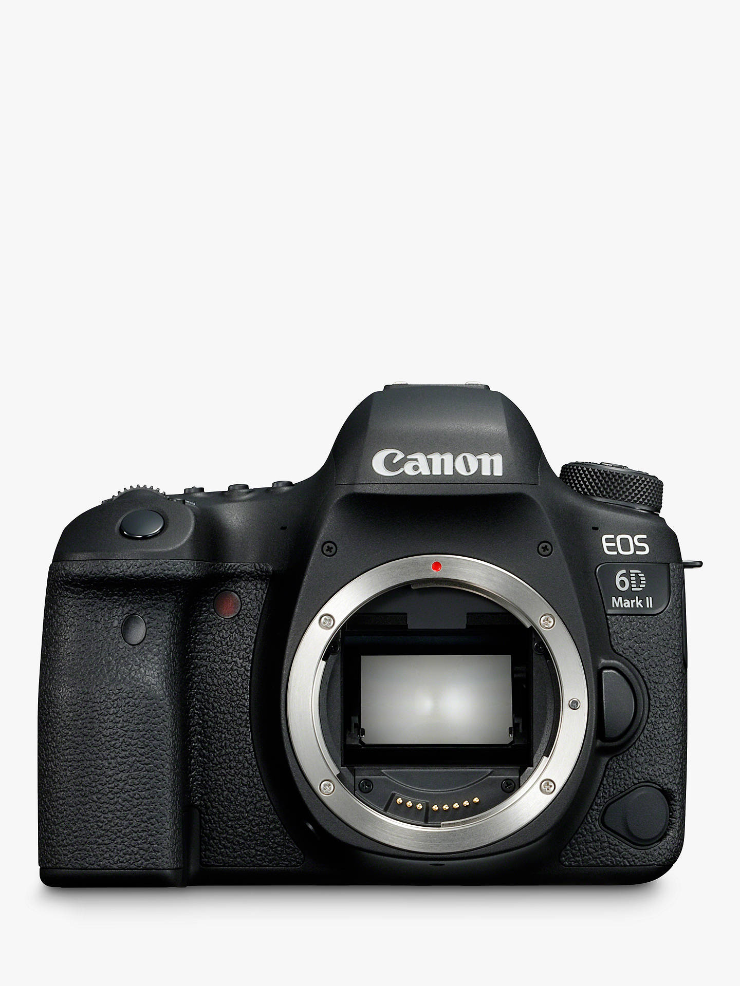 "BuyCanon EOS 6D MK II Digital SLR Camera, GPS, 1080p Full HD, 26.2MP, Wi-Fi, Bluetooth, NFC, 3"" Vari-angle Touch Screen, Body Only Online at johnlewis.com"