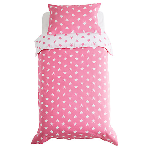 Buy Great Little Trading Co Reversible Star Duvet Cover Set, Single Online at johnlewis.com
