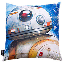 Buy Star Wars Droids Square Cushion Online at johnlewis.com