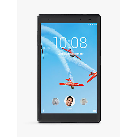"Buy Lenovo Tab 4 Plus Tablet, Android, Wi-Fi, 3GB RAM, 16GB, 8"" Full HD Online at johnlewis.com"