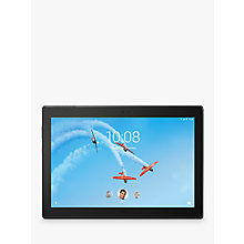 "Buy Lenovo Tab 4 Plus Tablet, Android, Wi-Fi, 3GB RAM, 16GB, 10"" Full HD Online at johnlewis.com"