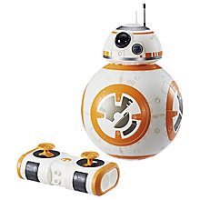 Buy Star Wars Remote Control Hyperdrive BB-8 Toy Online at johnlewis.com