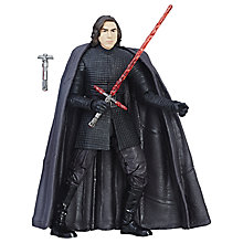 Buy Star Wars: The Last Jedi The Black Series Kylo Ren Action Figure Online at johnlewis.com