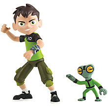Buy Ben 10 Ben Tennyson and Grey Matter Action Figure Online at johnlewis.com