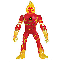 Buy Ben 10 Deluxe Power Up Heatblast Action Figure Online at johnlewis.com