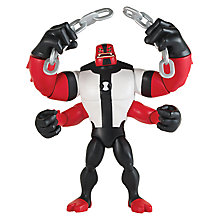 Buy Ben 10 Four Arms Action Figure Online at johnlewis.com