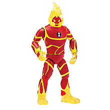 Buy Ben 10 Super Deluxe Heatblast Action Figure Online at johnlewis.com