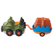 Buy VTech Toot-Toot Drivers Off-Roader & Trailer Online at johnlewis.com