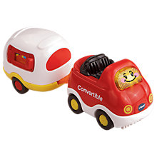 Buy VTech Toot-Toot Drivers Convertible Car & Caravan Online at johnlewis.com