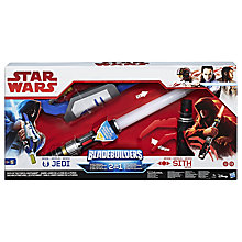 Buy Star Wars Bladebuilders Path of the Force Lightsaber Online at johnlewis.com