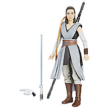 Buy Star Wars: The Last Jedi The Black Series Rey Jedi Training Action Figure Online at johnlewis.com