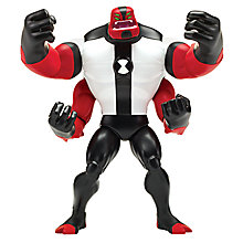 Buy Ben 10 Super Deluxe Four Arms Action Figure Online at johnlewis.com