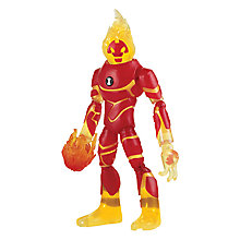 Buy Ben 10 Heatblast Action Figure Online at johnlewis.com