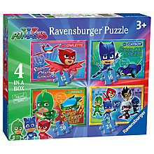 Buy Ravensburger PJ Masks Jigsaw Puzzle, Pack of 4 Online at johnlewis.com