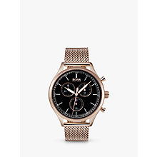 Buy HUGO BOSS Men's Companion Chronograph Bracelet Strap Watch Online at johnlewis.com