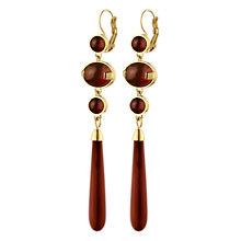 Buy Dyrberg/Kern Lindsey French Hook Earrings Online at johnlewis.com
