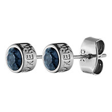 Buy Dyrberg/Kern Thelma Swarovski Stud Earrings Online at johnlewis.com