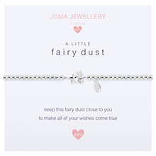 Buy Joma Sterling Silver Plated A Little Fairy Dust Bracelet, Silver Online at johnlewis.com