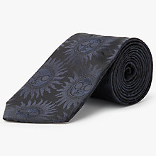 Buy Paul Smith Made in Italy Sun Silk Tie, Navy Online at johnlewis.com