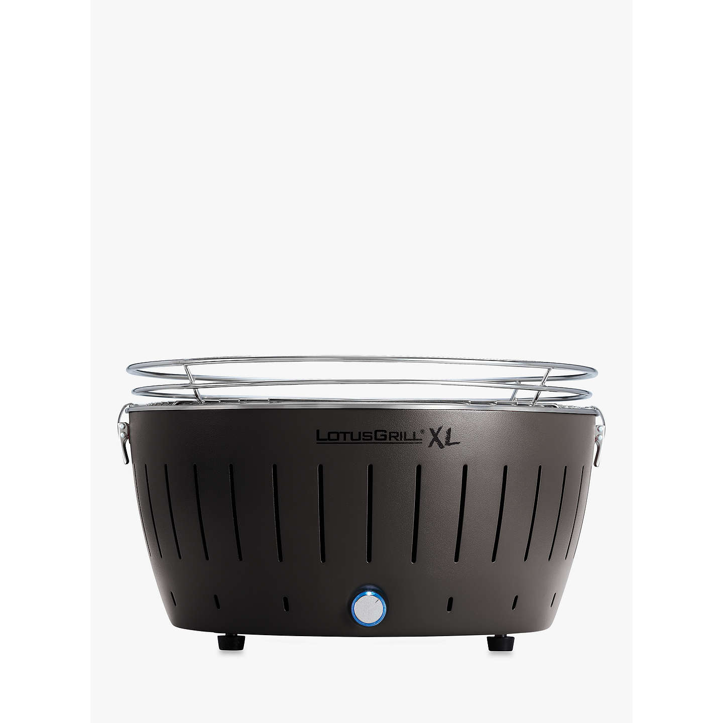 lotusgrill xl g an 435 smokeless charcoal grill bbq grey at john lewis. Black Bedroom Furniture Sets. Home Design Ideas