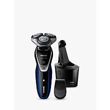 Buy Philips S5572/10 Series 5000 Wet and Dry Electric Shaver, Blue Online at johnlewis.com