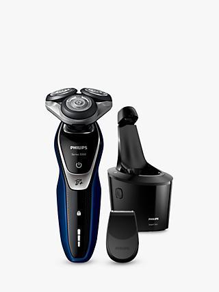 Philips S5572/10 Series 5000 Wet and Dry Electric Shaver, Blue