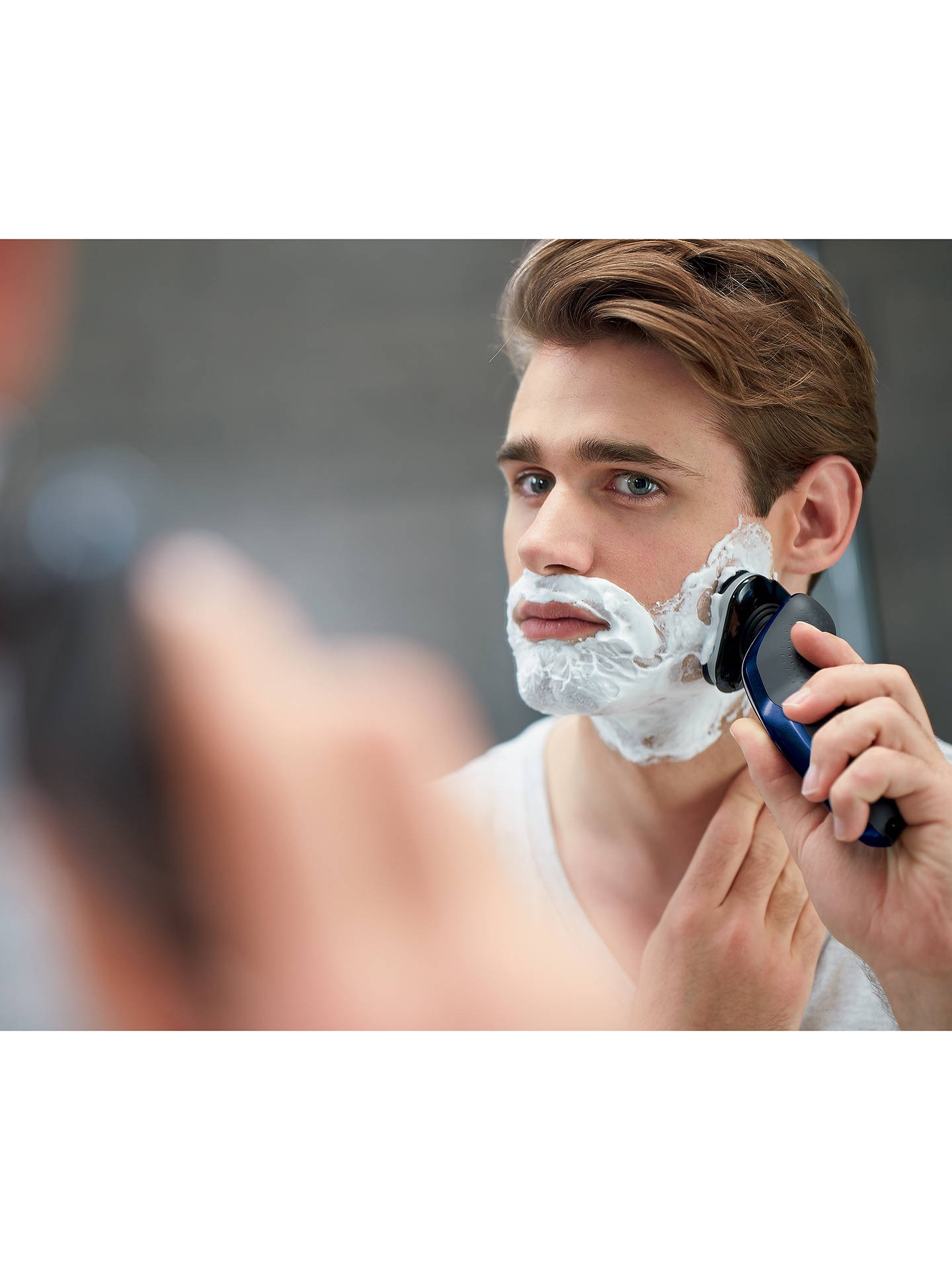BuyPhilips S5572/10 Series 5000 Wet and Dry Electric Shaver, Blue Online at johnlewis.com