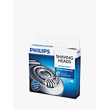 Buy Philips SH90/60 Series 9000 Shaving Heads Online at johnlewis.com