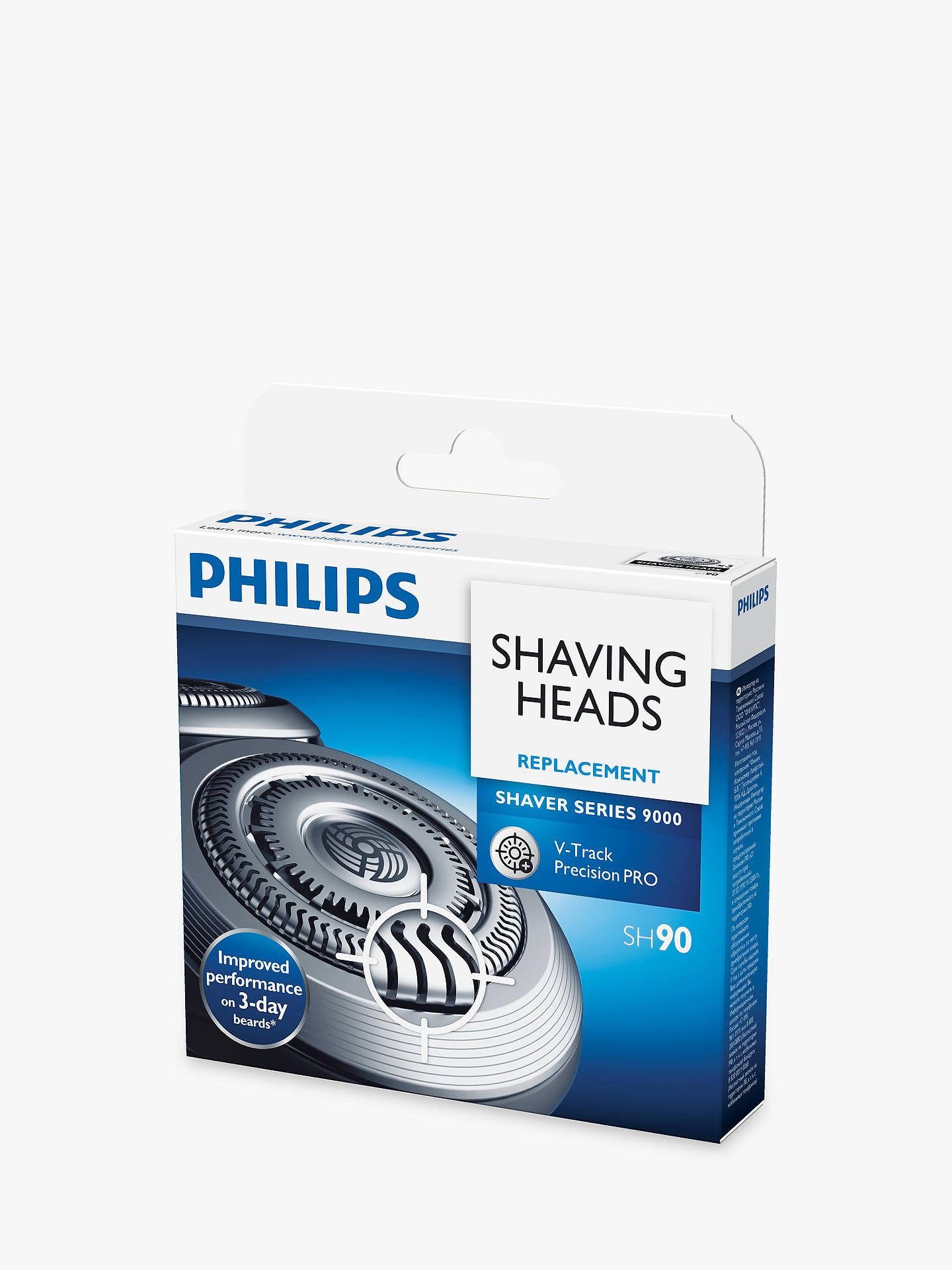 BuyPhilips SH90/60 Series 9000 Shaving Heads Online at johnlewis.com